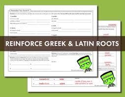 u0026 latin roots worksheets for high prefix root suffix