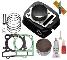 amazon com new yamaha warrior 350 cylinder piston gasket top end