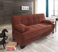 King Koil Sofa Bed by Nexo Carisma Terra Cotta Sofa Bed By Mobista