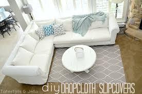 How To Make Slipcovers For Sofas Diy Slipcovers For Sectional Sofas Centerfieldbar Com