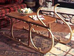 Woodworking Plans Coffee Tables by 31 Md 00105 Yuletide Sleigh Coffee Table Woodworking Plan