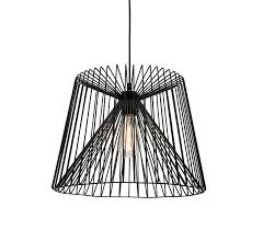 wire cage l shade eglo 49996 allerby led black wire cage pendant light sustainable