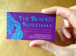 the beaded kusudama tutorial how to make a business card using gimp