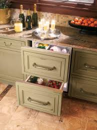 Kitchen Island With Drawers Kitchen Island Cabinets Pictures U0026 Ideas From Hgtv Hgtv