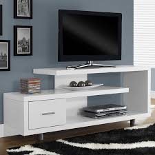 Tv Stands For Flat Screen Tvs White Modern Tv Stand Fits Up To 60 Inch Flat Screen Tv Flat
