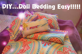 american doll bedding easy youtube