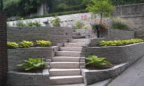 Stone For Garden Walls by Fond Du Lac Natural Wall Stone Friedges Landscaping Inc