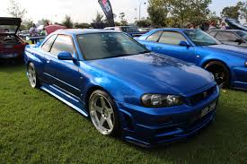 nissan skyline 2015 blue file 1999 nissan skyline r34 gtr 14349590384 jpg wikimedia commons