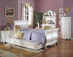 white teenage bedrooms slping wall ceiling wooden floor tween room