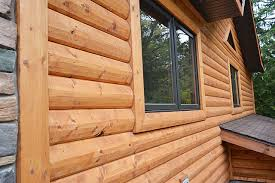 log cedar wood siding enterprise wood products