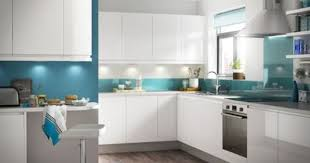 blue and white kitchen ideas collection blue gloss kitchen units photos free home designs photos