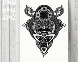 viking design tattoo etsy