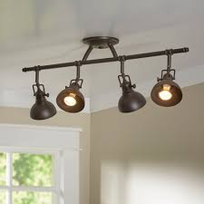 Ceiling Track Light Track Lighting You Ll Wayfair
