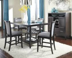 Tall Dining Room Sets by Signature Design By Ashley Trishelle Counter Height Dining Table