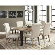 taylor modern vintage metal base dining collection 107431set by