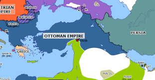 Ottoman Empire Serbia Second Ottoman War Historical Atlas Of Europe 15 July
