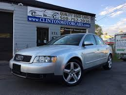 used 2003 audi a4 for sale 2003 audi a4 3 0 quattro in shrewsbury ma clinton motorcars