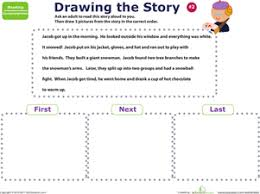 story sequencing jacob u0027s day worksheet education com