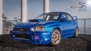 modified subaru wrx subaru impreza wrx sti 2004 add on tuning gta5 mods com