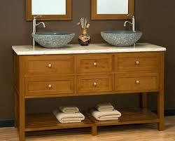 double vessel sink bathroom vanities 56 inch double vessel sink