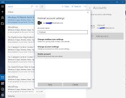 fix your account settings are out of date in windows 10 mail app