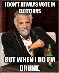 Funny Voting Memes - six decades and counting life reinvented pre election day trivia