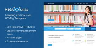online education templates from themeforest