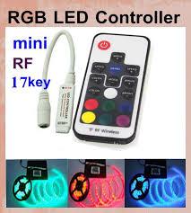 Rgb Led Remote Control Led Christmas Light Controller Key Chain Rf