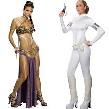 Padme Halloween Costume Slave Princess Leia Queen Amidala Costumes Costumes