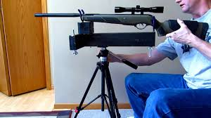 Portable Bench Rest Shooting Stand Homemade Rifle Rest Stand 5 Part 2 Youtube