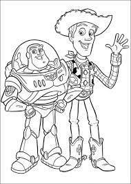 toy story coloring pages woody buzz coloringstar