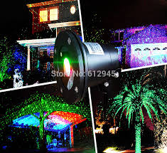 Landscape Laser Light Waterproof Laser Landscape Light For Outdoor Sky