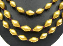 gold beaded necklace india images Barakat gallery store gif