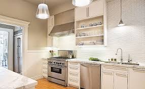 Interesting White Kitchen Backsplash Tile Bathroom Ideas Design - Modern backsplash tile