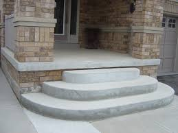 New Home Construction Steps by Sandalwood Parkway Brampton Decorative Concrete Overlay On