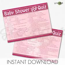 baby shower question photo baby shower trivia questions image