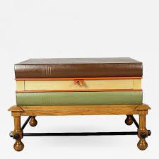 coffee table john dickinson stacked books coffee table or side