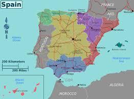 Vigo Spain Map by Spain Map Png