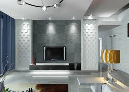 contemporary living room with tv on wall center ideas in modern to