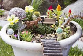 identifying flowers and green plants to create your very own fairy