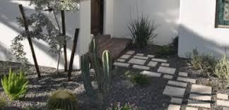Backyard Walkway Designs - desert landscaping ideas landscaping network