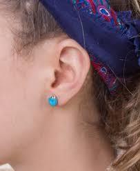 turquoise stud earrings stud earrings hippie stud earrings soul flower