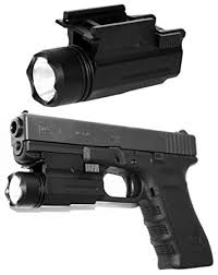 laser light combo for glock 22 amazon com tactical flashlight for ruger glock 17 19 22