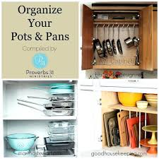Cabinet Organizers For Pots And Pans Organizing Pots And Pans In Kitchen Cabinets Cabinet Organization