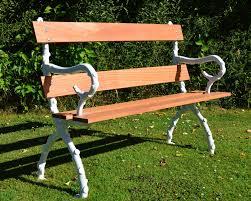 victorian bristol wagon works cast iron u0026 hardwood branch garden