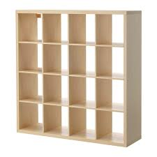 Risor Room Divider Kallax Shelf Unit Birch Effect Ikea