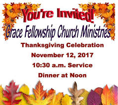fellowship church ministries to host thanksgiving celebration