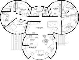 round homes floor plans marvelous design dome homes floor plans two round home with garage