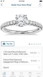 wedding ring app blue nile diamonds jewelry on the app store