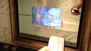 bathroom mirror with tv u2013 harpsounds co